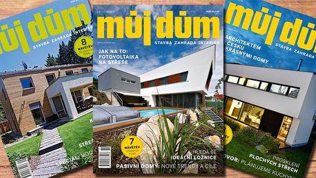 Předplatné časopisu Můj dům na rok 2017