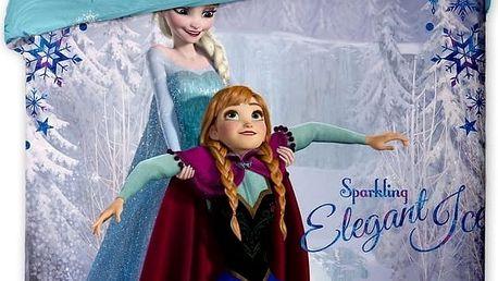 Jerry Fabrics Dětské povlečení Ledové Království Frozen 2015, 140 x 200 cm, 70 x 90 cm