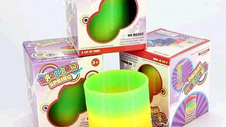Plastová pružina - hračka pro děti i dospělé - dodání do 2 dnů