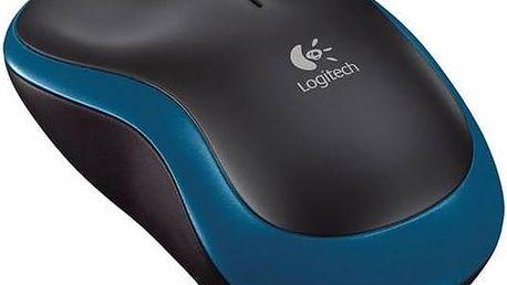 Logitech Wireless Mouse M185 (910-002239) modrá