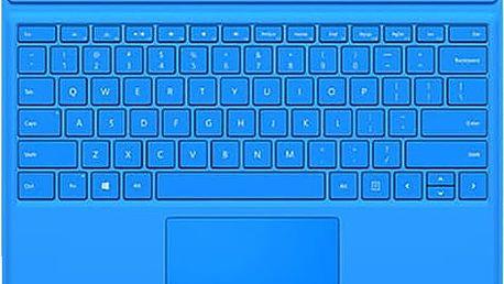 Microsoft Surface Pro 4 Type Cover, světle modrá - QC7-00095
