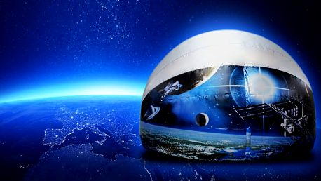 Promítání v mobilním planetáriu u vás doma