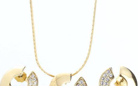 Set náhrdelníku a náušnic se Swarovski Elements Itola