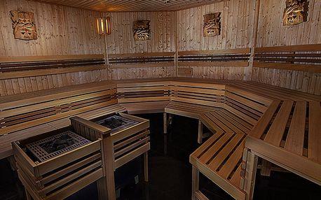Celodenní saunování pro 1 nebo 2 osoby: 6 druhů saun + zapůjčení prostěradla a osušky