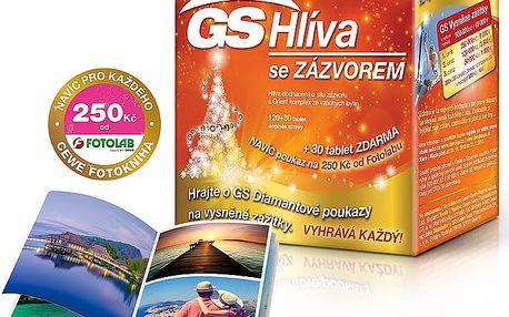 GS Hlíva Orient se zázvorem 120 + 30 tablet