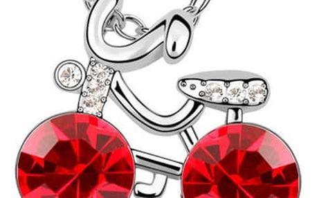 Fashion Icon Přívěsek s řetízkem kolo s krystalky Swarovski elements