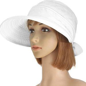 Letní klobouček s dlouhým kšiltem