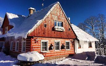 3–5denní pobyt se snídaní a saunou pro 2 v Jizerských horách v Chalupě Podlesí
