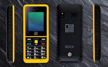 Odolný mobil Pelitt Rock – pevný jako skála za super cenu!
