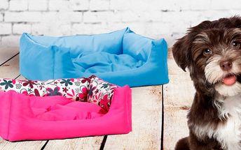 Obdélníkové pelíšky Argi pro psí kamarády
