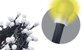 300 LED dekor. osvětlení - kulička 30M teplá bílá, časovač; 1534160035