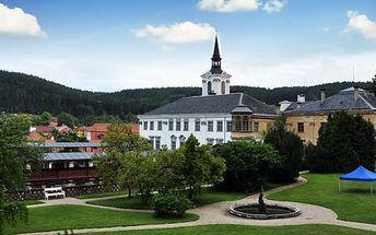 Pobyt u zámku Lysice s polopenzí pro dva s dítětem do 12 let zdarma