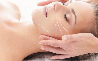 70min. balíček hloubkové kosmetické péče s masáží, kyselinou hyaluronovou a liftingovou maskou