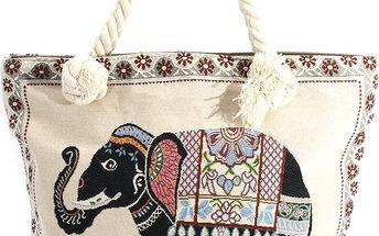 Fashion Icon etno taška se zvířaty