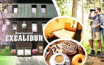 Svěží jarní pobyt v hotelu Excalibur na Božím Daru. Čeká vás rodinné prostředí, polopenze, káva nebo čaj s domácím koláčem, vstup do muzea na Božím Daru a sleva 10% na konzumaci v restauraci.