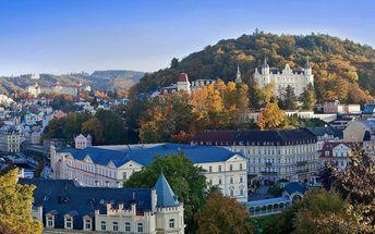 Pohodový pobyt v Karlových Varech s polopenzí