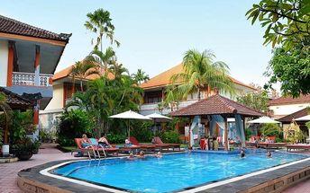 Bali - Kuta Beach na 10 až 15 dní, snídaně s dopravou letecky z Prahy