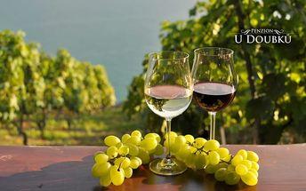 Jižní Morava s polopenzí a degustací vín