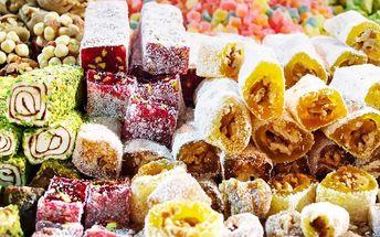 Orientální turecké sladkosti v dárkovém balení