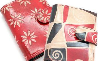 Dámská peněženka Etnic z pravé kůže - VÝPRODEJ