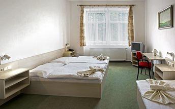Romantický pobyt, pobyt pro seniory 50+ nebo pobyt na Vánoce pro 1-2 osoby v hotelu Záložna