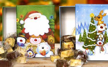 Čokoládové Vánoce: Pralinky Santa & sob