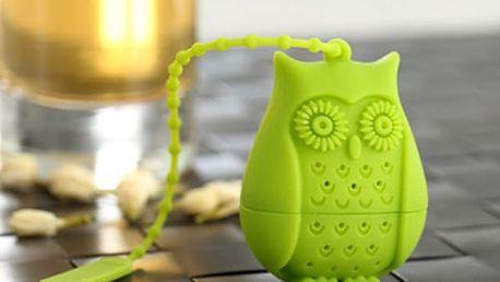 Roztomilé sítko na čaj - sova
