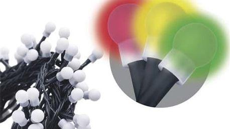 300 LED dekor. osvětlení - kulička 30M multicolor, časovač; 1534161015