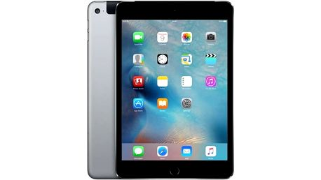 Apple iPad mini 4 Wi-Fi + Cellular 16 GB - Space Gray (mk6y2fd/a)