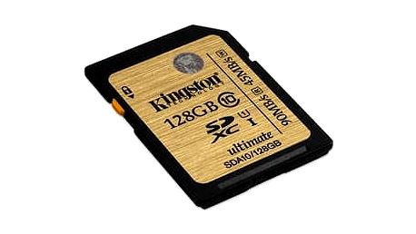 Kingston 128GB SDXC Ultimate UHS-I class 10; SDA10/128GB