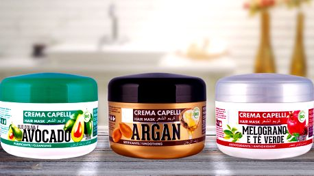 Italské vlasové masky Nani v bio kvalitě