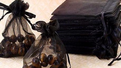 Černé taštičky - 100 kusů