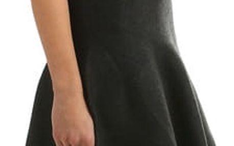 Dámská úpletová sukně černá