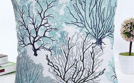 Povlak na polštář - Stromy v zimě