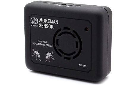 Odpuzovač komárů - Přenosný, elektronický, maximálně spolehlivý, navíc bez jakéhokoli zápachu či chemie.