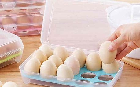 Zásobník na vajíčka pro 15 kusů - 4 barvy