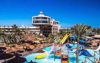 Silvestr u moře: Egypt - Hurghada na 8 dní, all inclusive s dopravou letecky z Prahy