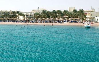 Silvestr u moře: Egypt - Hurghada na 8 dní, all inclusive s dopravou Bratislavy nebo letecky z Prahy