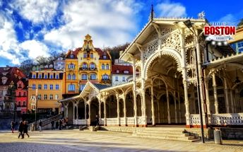 Karlovy Vary v centru se snídaní