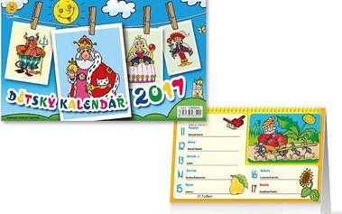 Dětský kalendář 2017 - dodání do 2 dnů