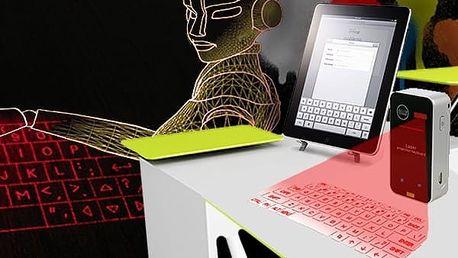 Hi-tech laserová virtuálna klávesnice