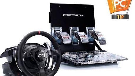 Thrustmaster T500 RS pro PS3 a PC + pedály (4160566) černý