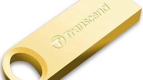 Transcend JetFlash 520G 32GB (TS32GJF520G) zlatý/kovový