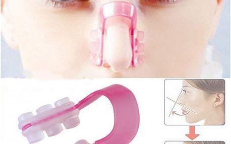 Klip na dočasné zmenšení nosu