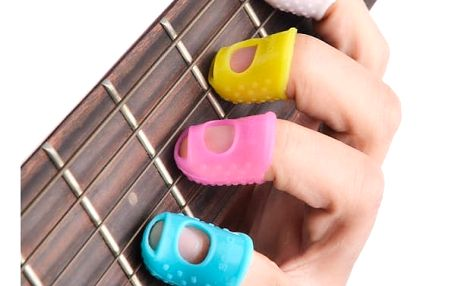 Chrániče prstů pro strunové nástroje - 4 kusy
