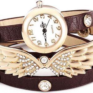 Náramkové hodinky s doplňkem křídel