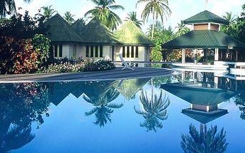 Maledivy - na 8 dní, polopenze s dopravou letecky z Prahy