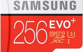 Samsung Micro SDXC EVO+ 256GB UHS-I U3 (95R/90W) + adapter (MB-MC256DA/EU)