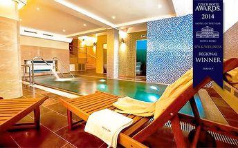 2 nebo 3denní wellness pobyt se snídaněmi pro 2 osoby v pražském hotelu Relax Inn****