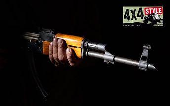 Zážitková střelba z 6–10 zbraní u Uherského Hradiště